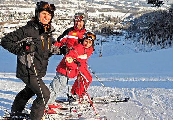 Ski auf Erlebnisberg Oberaudorf, Ausflug vom Hotel zur Post Kieferesfelden