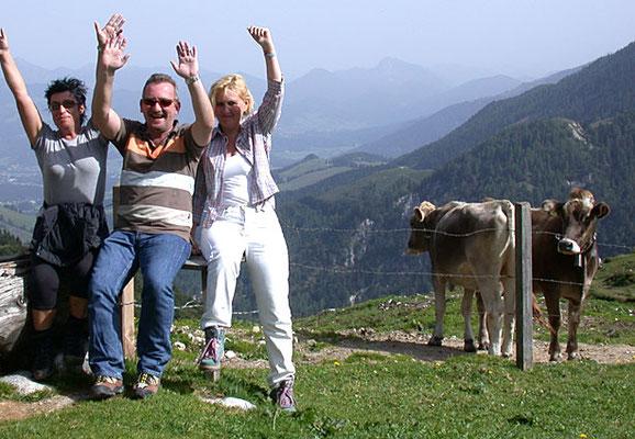 Ausflug, Bergerlebnis vom Hotel zur Post Kiefersfelden