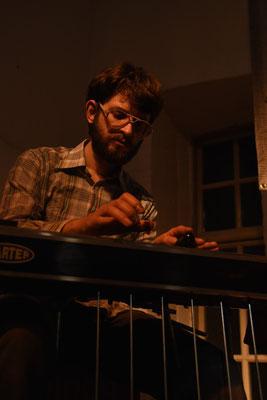 T.S. Brooks/Pedal Steel: Olli Samland - Foto: Till Haupt