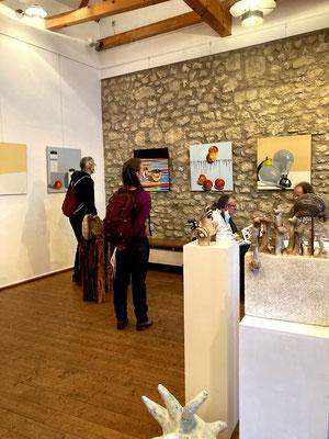 17.09.2021 Eröffnung Ausstellung Valentin Reimann Peter Schäfer-Oswald in Nieder Olm