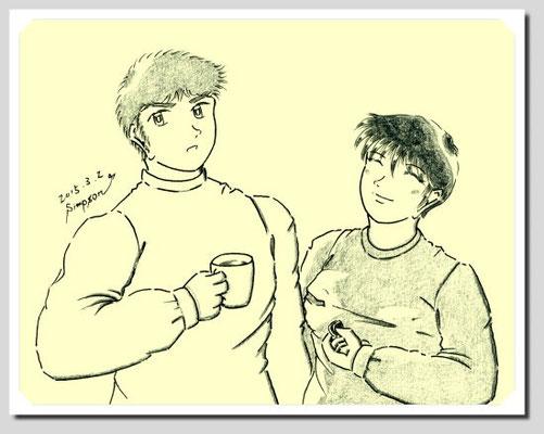 アルバートとシヅ子の息子ケネス(46)とその妻マユミ(46)