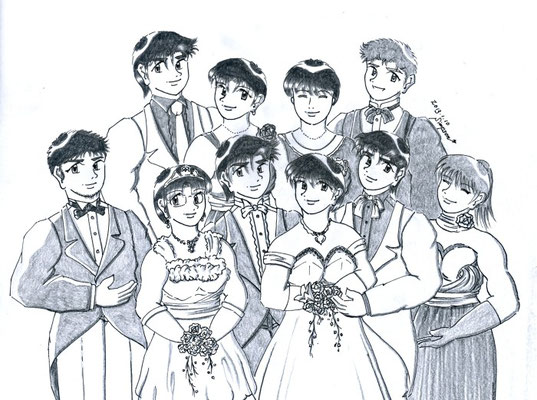 "真雪&龍、春菜&健太郎の結婚披露宴(Twin's Story 11 ""Sweet Chocolate Time"")"