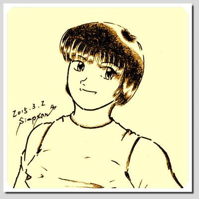 橘 敦子(21)――『緑風園』にシヅ子と共に就職した学生時代からの親友