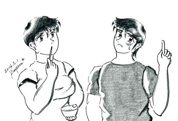 """Twin's Story 外伝 """"Hot Chocolate Time 2""""~第8話 精通タイム"""
