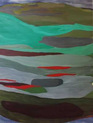Landscape, 180 x 140 cm, Acryl auf Leinwand, Susanne Renner