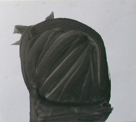 Ohne Titel, 40 x 50 cm, Acryl auf Papier, Susanne Renner