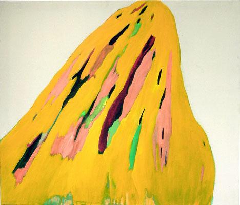 Coloured matter III, 120 x 140 cm, Acryl auf Leinwand, Susanne Renner