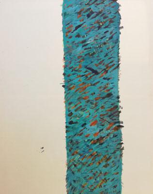 Coloured matter VIII, 180 x 140 cm, Acryl auf Leinwand, Susanne Renner