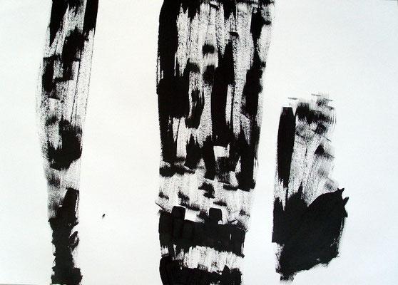 Ohne Titel, 7Ohne Titel, 70 x 100 cm, Tusche auf Papier, Susanne Renner-Schulz, 20140 x 100 cm, Tusche auf Papier, Susanne Renner-Schulz, 2014