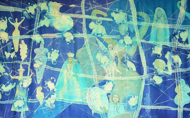 weibliche energie  242x140 Fr. 3400.-, farbreise.ch, Seidenwerk, furchtlos, Marianne Iten Thürig, Cham