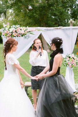 """""""oui je le veux"""" cérémonie laïque mariage - crédit photo Jérémy Froelinger"""