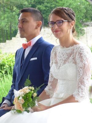 Cérémonie laïque de mariage by Charlotte Vilain