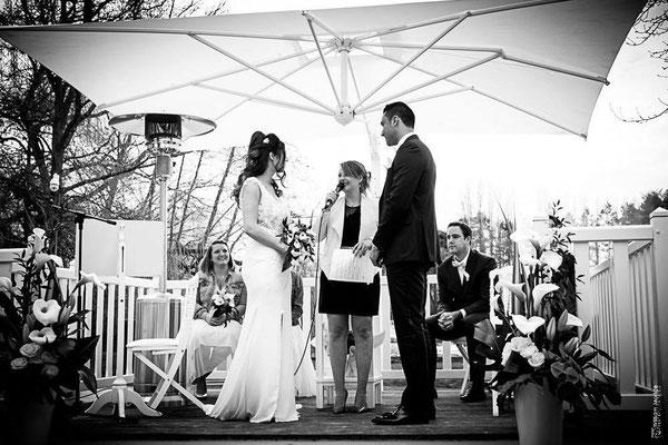Cérémonie laïque de mariage by Charlotte