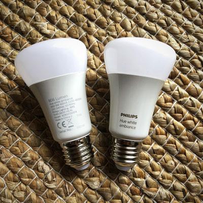 Philips Hue White Ambiance Starter-Set - Die Lampen