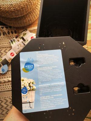 Emsa - Casa Cozy Pflanzkübel Produkttest - Bewässerungssystem