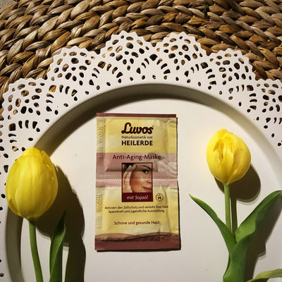 Luvos -  Creme Gesichtsmaske Anti-Aging-Maske #Heilerde #Produkttest