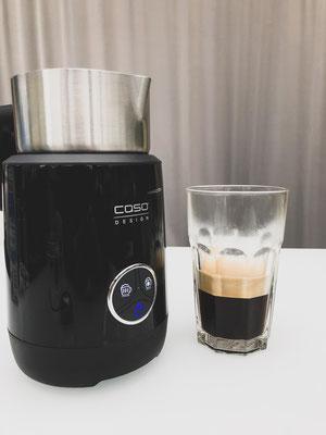 Zwischenzeitlich Espresso zubereiten