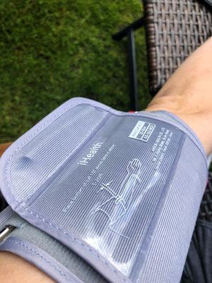iHealth Clear Blutdruckmessgerät - die Manschette