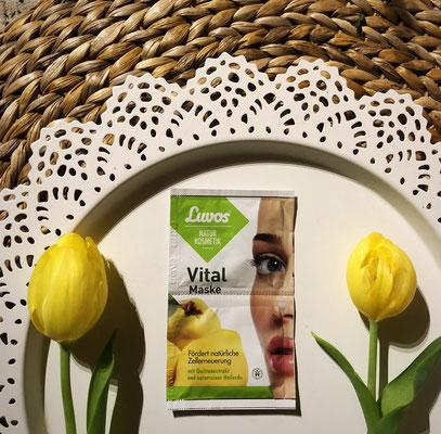 Luvos - Elemente der Natur Gesichtsmaske Vital Maske