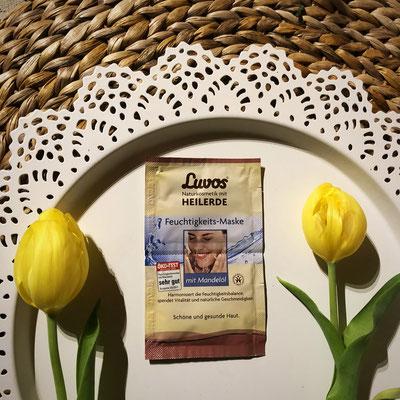 Luvos -  Creme Gesichtsmaske Feuchtigkeit-Maske #Heilerde #Produkttest