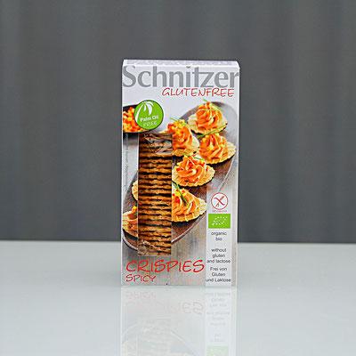Schnitzer glutenfree - Crispies spicy