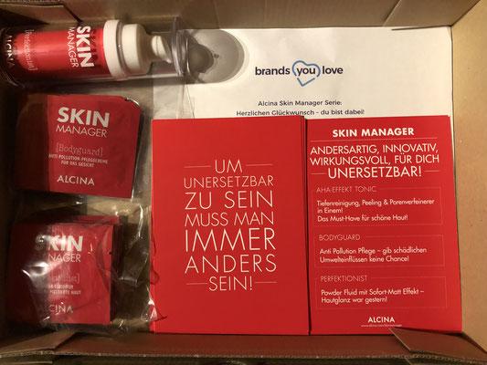 Alaina Skin Manager Testpaket