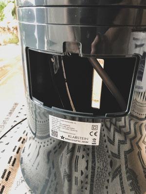 Highrise Ventilator Wasserbehälter