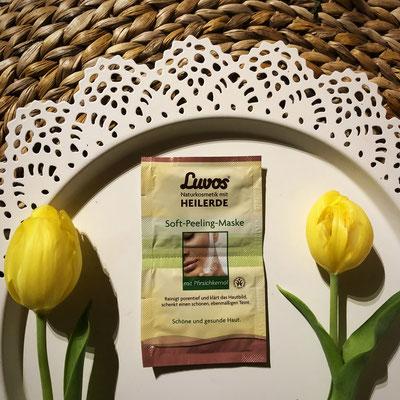 Luvos -  Creme Gesichtsmaske Soft-Peeling-Maske #Heilerde #Produkttest