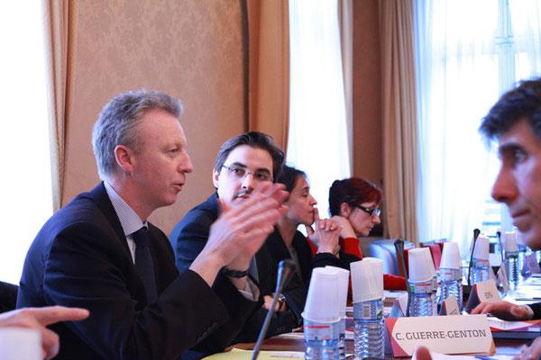Yves Teyssier d'Orfeuil, adjoint au Conseil pour les Affaires religieuses du Ministère des affaires étrangères
