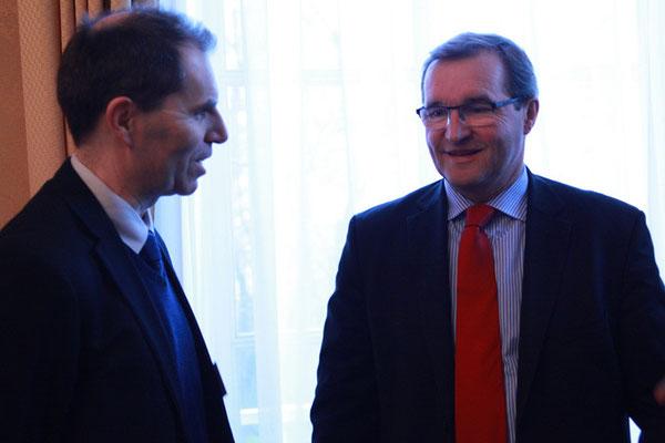 Abd al-Haqq Ismaïl Guiderdoni, Directeur de l'IHEI et Germinal Peiro, député de Dordogne