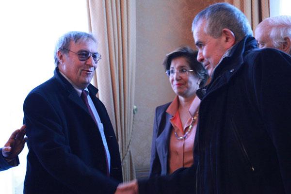 Jean-Michel AbdAllâh Yahyâ Darolles et Christophe Roucou, Secrétaire pour les relations avec l'islam