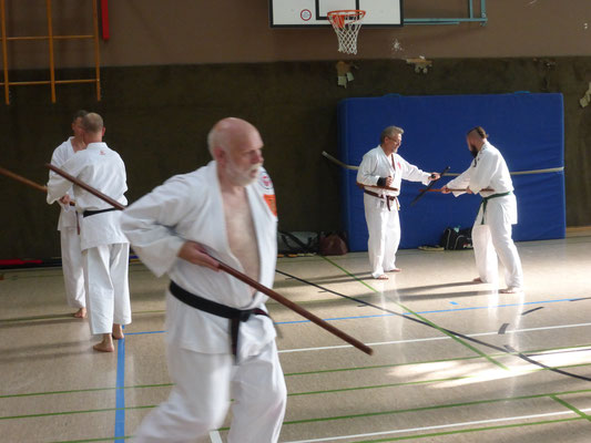 JJU NW - Jiu Jitsu Union - Bo vs Tonfa - moderne Selbstverteidigung
