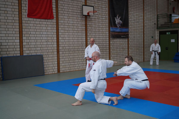 Kata Lehrgang - Jiu Jitsu Union NW
