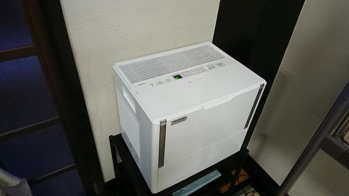加湿器の利用(冬期)