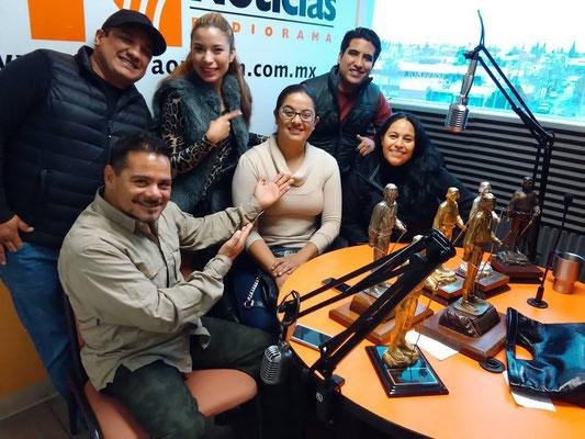 excelentes momentos con Ramón Chávez, Cristian Bejarano (Boxeo), Ivette García (Ajedrez) Carlos Ruanny ( Wu-Shu) Alex Aguirre, Sara Lucía Morales y Ulda Alarcón.