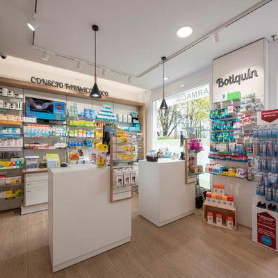 Diseño, proyecto y reforma farmacia Vigo,  Pontevedra , Galicia