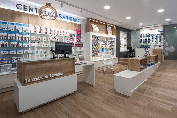 Diseño, proyecto y reforma ortopedia Centro Casariego-  Viveiro - Galicia