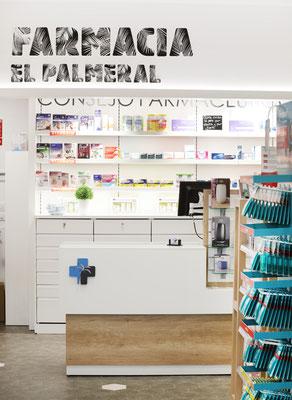 Diseño, proyecto y reforma farmacia  Galicia