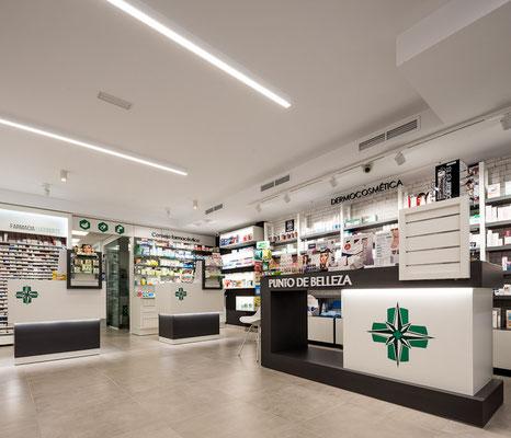 Diseño, proyecto y reforma farmacia Lugo Norte -  Lugo- Galicia