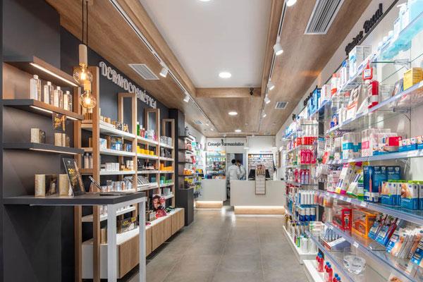 Diseño, proyecto y reforma farmacia Pontevedra , Galicia
