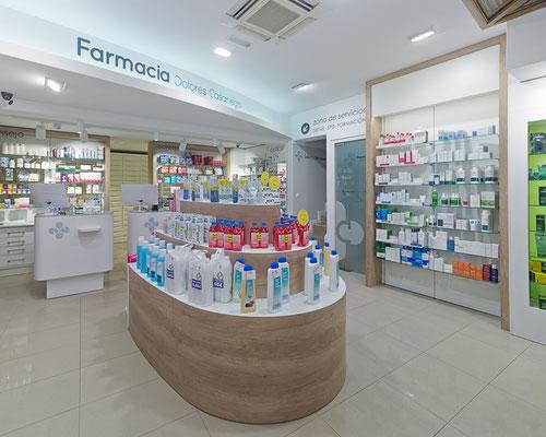 Diseño, proyecto y reforma farmacia - Santiago Galicia