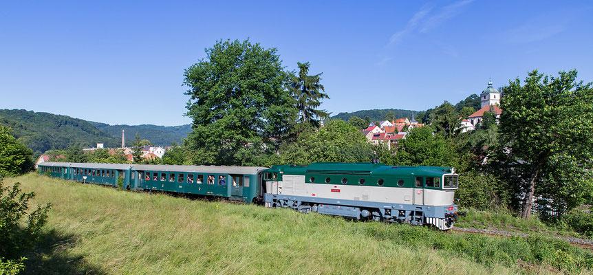753-001 + 3x Bam in Benešov nad Ploučnicí