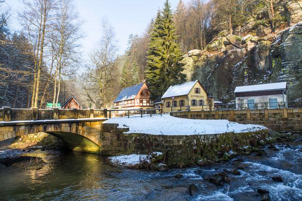 Winter an der Neumannmühle