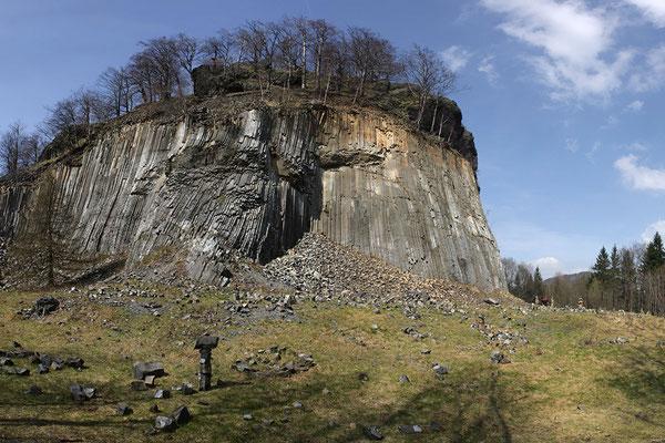 Basaltkuppe des Zlatý Vrch