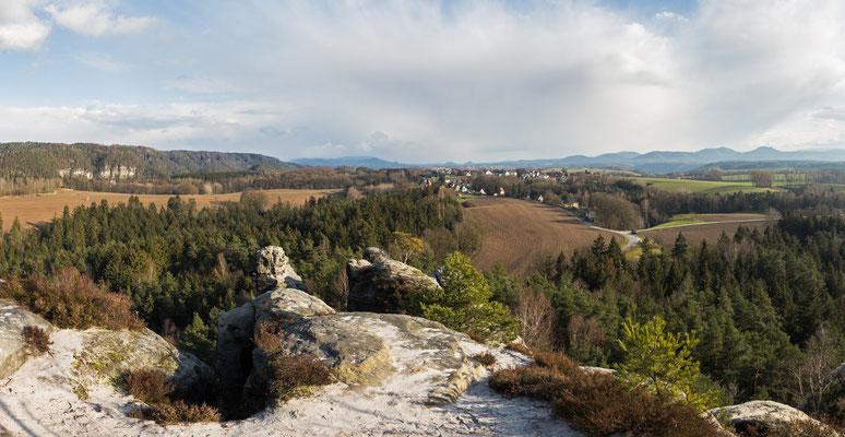 Gamrig-Panorama