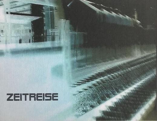 """""""Zeitreise""""  Digital Print auf Holzkörper - 25x20x4,5cm  2004"""