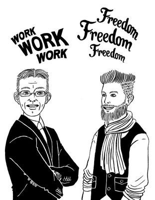 Zusammen mit Zeljko Ratkovic und seinem Team habe ich an dieser Illustration für Design Offices gearbeitet.