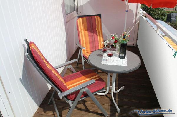 Ferienwohnung mit Balkon in Cuxhaven Duhnen