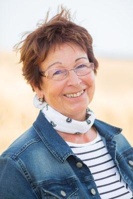 Karin Rauert,  1. Vorsitzende  1989  -  2001                                      (Foto: Britta Ahlström)