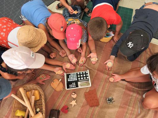 ateliers créatifs enfants carnoules